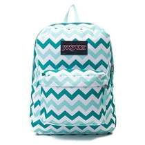 Mochila Jansport Super Break - Estampa Zig Zag - Way Tenis