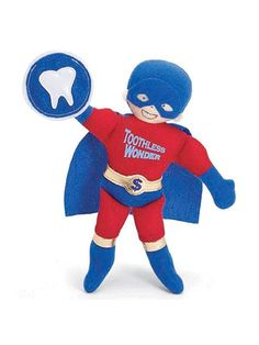 Toothless Wonder Blue Cape