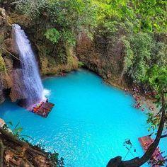 Kawasn Falls, Cebu, #Philippines