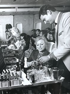 South African Airways publicity shot 1971