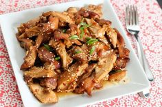 honey burbon chicken crock pot