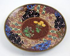 A Japanese Cloisonne Metal Charger. Lot 152-3020