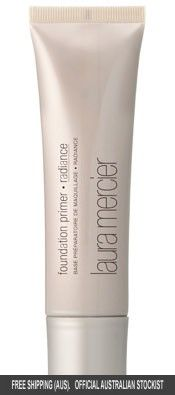 Brand available at Fenwick Laura Mercier Radiance Primer. Always start with a great base, much easier application, hydrated skin and holds makeup in place for hours! Laura Mercier Radiance Primer, Laura Mercier Foundation Primer, Flawless Makeup, Beauty Makeup, Beauty Tips, Beauty Products, Skin Products, Clean Beauty, True Beauty