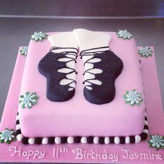 Irish dancing ballerina cake