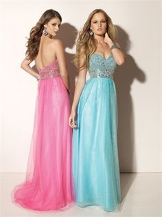 Column Empire Sweetheart Neckline Floor Length Open Back Prom Dress PD10103 www.dresseshouse.co.uk $126.0000