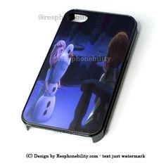 Elsa And Anna As Kids Making Olaf Snowman iPhone 4 4S 5 5S 5C 6 6 Plus – Resphonebility