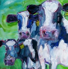 Sold Medium Art, Cows, Mixed Media Art, Collage, Artists, Abstract, Artwork, Painting, Paint