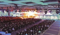 """Lucion - """"Loblaws convention, 2013"""", video projection http://www.lucionmedia.ca"""