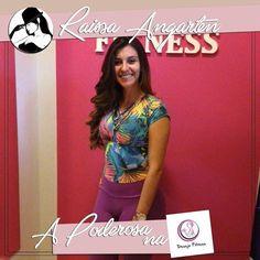 A bela Poderosa está agora conferindo os looks fitness da Desejo Fitness! Um mais lindo que o outro.