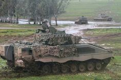 Pizarro Infantry Fighting Vehicle and Leopard 2Es, Spanish Army, Ejército de Tierra. ASCOD