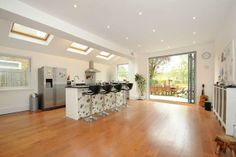 Semi-detached house for sale in South Croxted Road, West Dulwich - 32588480 Semi Detached, Detached House, Roof Light, Property For Sale, Kitchen Dining, Lights, Table, Furniture, Home Decor