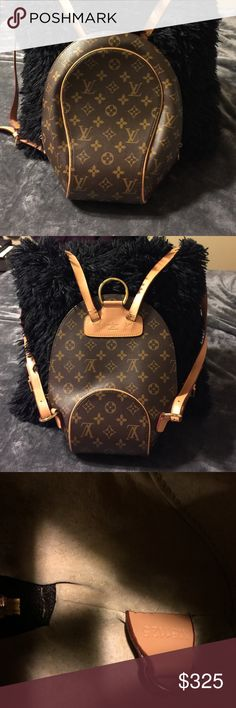 Louis Vuitton back pack bag Like new Louis Vuitton backpack bag. Used twice maybe 3 times. In excellent condition. Prices always negotiable! Not authentic Louis Vuitton Bags Backpacks