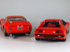 Ferrari 308GTB & 250GTO 1/24