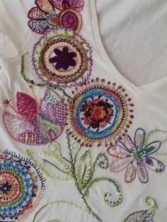 #embrodery #bordado #camiseta bordada