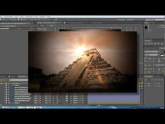 Adobe After Effects Tutorial - How To Add Optical Flares