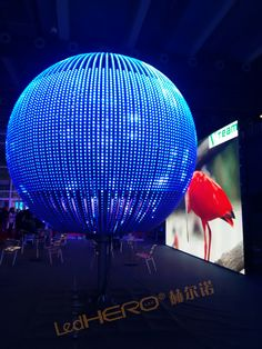 Big LED display for stage performance and exhibition