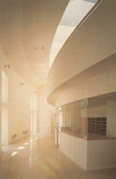 Juan Navarro Baldeweg   Proyecto Puerta de Toledo   Biblioteca Pedro Salinas   Madrid, España   1985-1992