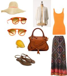 sunset, created by kwilly on Polyvore