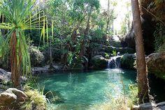 Madagascar isalo natural pool