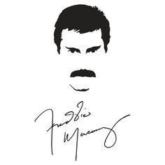Freddie Mercury-  want tattoo like this.!!!!