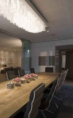 The Norwegian Prime Ministers Residence designed by Metropolis arkitektur & design. Prime Minister, Conference Room, Interior, Table, Projects, Furniture, Design, Home Decor, Log Projects