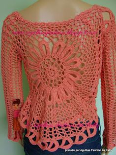 Crochet top - good color for 2012 - 2014