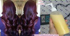 Receita de um shampoo caseiro para crescimento do cabelo e combater a caspa além de dar muito brilho e maciez.