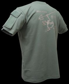 TPS SKULL FROG (TACTICAL POCKET T-SHIRT) FOLIAGE | shirt | Tactical Gear
