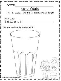 day will it sink or float Kindergarten Science, Teaching Science, Kindergarten Classroom, Science Activities, Writing Activities, Teaching Ideas, Preschool, Classroom Ideas, Elementary Science