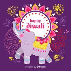 Diwali background in flat design | Free Vector #Freepik #freevector History Of Diwali, Diwali Story, Diwali Status, Diwali Wishes Quotes, Happy Diwali 2019, Diwali Wallpaper, Diwali Sale, Cute Statuses