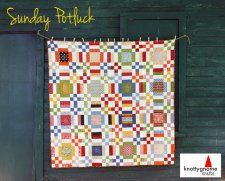 Free Pattern - Sunday Potluck Quilt by Sara for Moda Bakeshop