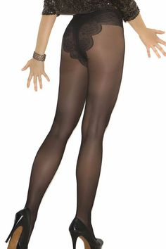 f0b9b0fbff4f7 Plus Size French Cut Floral Pantyhose Black Support Hose Hosiery Work  Sexy#Floral#Pantyhose