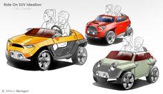Childrens' Product Design by Marc Senger, via Behance