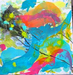 WIP abstract art by kat gottke april 2015