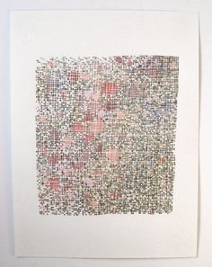 Emily Barletta thread and paper Embroidery Art, Cross Stitch Embroidery, Embroidery Patterns, Embroidered Paper, Stitching On Paper, Contemporary Embroidery, Textiles, Paper Drawing, Scrappy Quilts