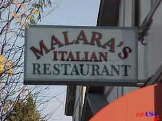 We set our wedding date here back in 1994.  Special place......Malara's Italian Restaurant, 2123 Pierce St  Omaha, NE 68108