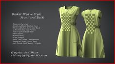 Weave style dress - created in Marvelous designer