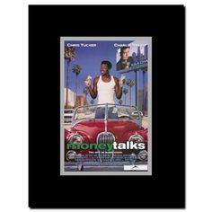 Money Talks Framed Movie Poster Black In 2019 Movie Posters
