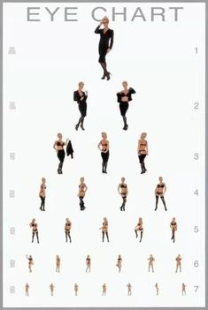 Image result for sexy eye chart