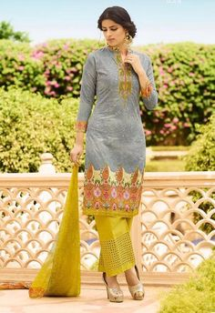 Omtex Pure Lawn Cotton Dress Material-1251A