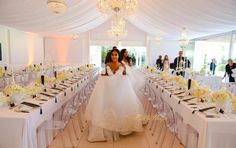 The beautiful Minnie Dlamini married her sweetheart Quinton Jones recently. Their wedding ceremony planned by the talented aired as the first ever wedding - BellaNaija Weddings. Wedding Reception Decorations, Wedding Ceremony, Wedding Gowns, Wedding Hair, Zulu Traditional Wedding, Flower Wall Wedding, Wedding People, Cinderella Wedding, Wedding Wishes