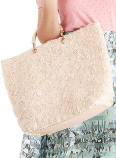 Tote-ally Cute Bag in Blush