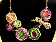 Necklace by BISTRA KANALIEVA   Polymer Clay Planet