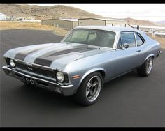 1969 Nova SS, my all-time favorite car. One day, I WILL own one!