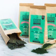 Good Express | GREEN SUPERFOOD BARS-360 g - Estas barritas son el snack perfecto para tomar entre comidas o por la mañana cargado de energía para empezar el día. Una rica combinación de plátano, spirulina y superfoods. $75