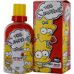 Twentieth Century Fox Eau de Toilette Spray for Girls and Kids, The Simpsons, 3.