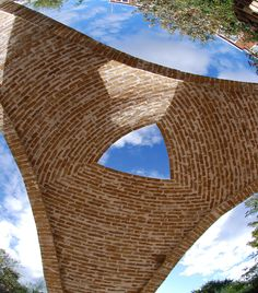 Catalan vaulted structure for William Paton Community Garden