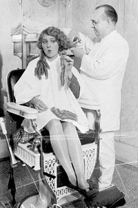 Hollywood's First Haircut Heard 'Round the World   Stuff Mom Never ...