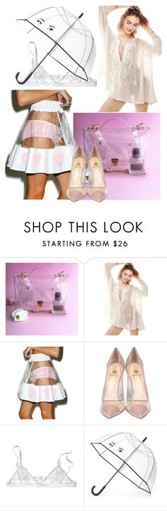 """""""Easy to see through"""" by jesselei ❤ liked on Polyvore featuring Indyanna, Semilla and Kate Spade"""