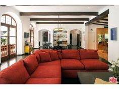 322 Bentel Ave, Los Angeles, CA 90049 Sofa, Couch, Building A House, Home And Family, Lounge, Real Estate, Furniture, Beverly Hills, Spanish
